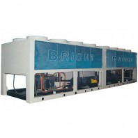 Air cooled screw chiller unit