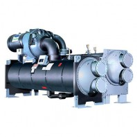 Centrifugal water cooled water chiller