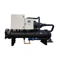 Water cooled screw chiller unit