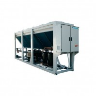 Marine air cooled water chiller