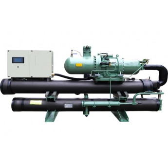 Outdoor water strong cooled screw chiller