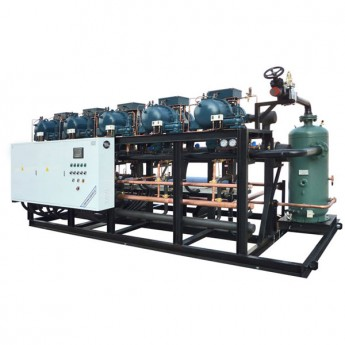 parallel screw compressor unit
