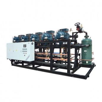 Screw 6-Parallel Compressor Refrigeration Unit