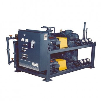 Marine water cooled water chiller