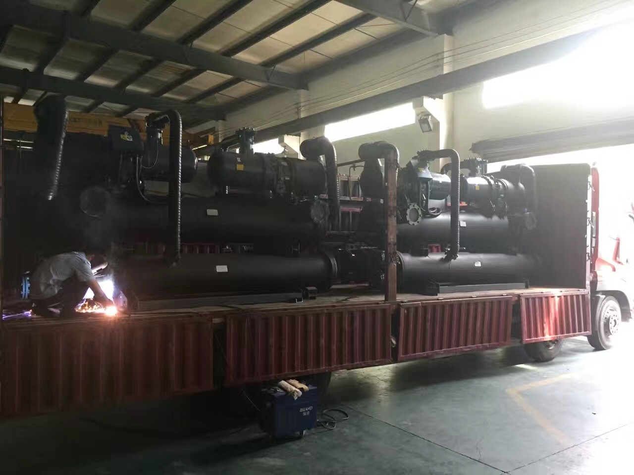 1580KW water cooled screw chiller